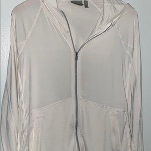 Athleta white jacket size s